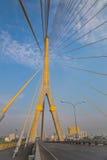 Ponte mega em Banguecoque (ponte de Rama 8) Imagens de Stock