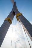 Ponte mega em Banguecoque (ponte de Rama 8) Fotografia de Stock