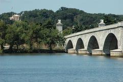 Ponte memorável que conduz a Arl Foto de Stock Royalty Free