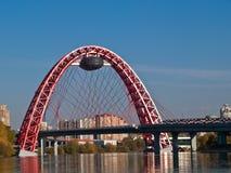 Ponte moderna Imagens de Stock Royalty Free