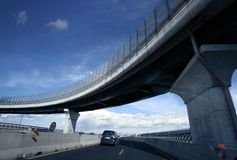 Ponte moderna fotografia de stock