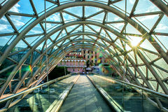 A ponte moderna Fotografia de Stock