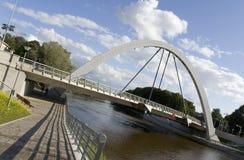 Ponte moderna do arco Fotografia de Stock
