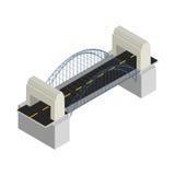 Ponte moderno Fotografia Stock Libera da Diritti
