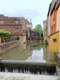 Ponte in Montargis fotografia stock libera da diritti