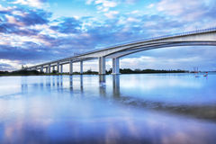 Ponte Motorway da entrada Fotos de Stock