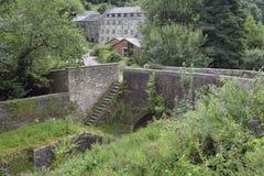 Ponte & mulino del ` s di St Mary fotografia stock