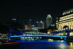 A ponte na cidade Imagem de Stock Royalty Free