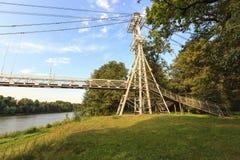 Ponte na cidade de mosty imagens de stock royalty free
