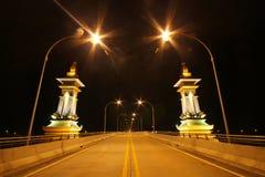Ponte 3, Nakhon Phanom Tailandia di amicizia di Tailandese-laotiano Fotografie Stock Libere da Diritti
