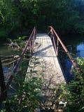 Ponte nas madeiras Fotografia de Stock Royalty Free