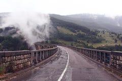 Ponte nas montanhas Foto de Stock Royalty Free