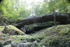 Ponte natural 3 de Arkansas fotos de stock