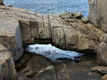 Ponte naturale Fotografia Stock