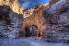 Ponte naturale, Death Valley Immagini Stock
