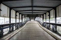 Ponte nel bacino Immagine Stock