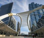 Ponte nel centro di Bangkok, capitale della Tailandia Immagini Stock