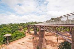 Ponte nel parco. Fotografia Stock