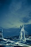 Ponte nella città di Sao Paulo Immagine Stock Libera da Diritti