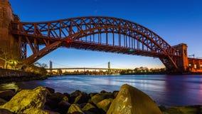 Ponte New York da porta do inferno video estoque