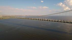 Ponte New York de Verrazano video estoque