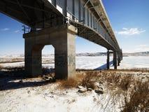 Ponte no inverno Foto de Stock