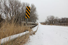 Ponte no inverno Fotos de Stock