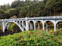 Ponte no litoral imagens de stock royalty free
