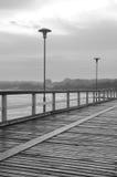 Ponte no mar Imagens de Stock