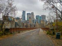 ponte no outono de Chicago fotografia de stock royalty free