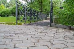 Ponte no parque Fotografia de Stock