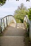 Ponte no rio Imagem de Stock
