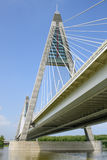 Ponte no rio de Danúbio 2 Fotografia de Stock