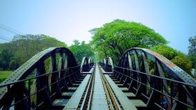 A ponte no rio Kwai imagens de stock