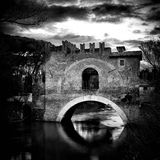 Ponte Nomentano Royalty Free Stock Photo