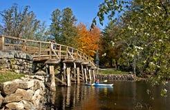 Ponte norte, concórdia foto de stock