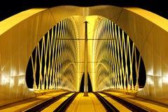Ponte nova de Troja Foto de Stock