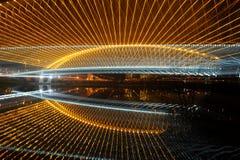 Ponte nova de Troja Imagem de Stock
