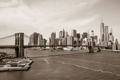 Ponte in NY Fotografie Stock