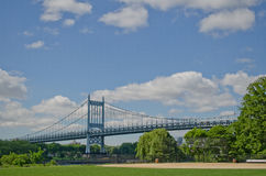 A ponte NYC do triborough Fotografia de Stock Royalty Free