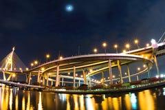 Ponte ou estrada de anel industrial Imagens de Stock