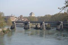Ponte Palatino Immagine Stock Libera da Diritti