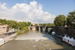 Ponte Palatino Stock Photo