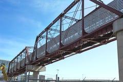 Ponte pedestre Fotos de Stock