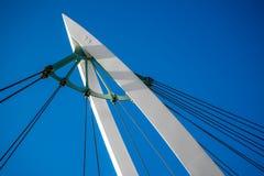 Ponte pedestre Imagem de Stock