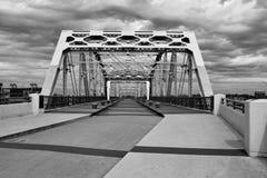 Ponte pedestre de Shelby em Nashville imagem de stock