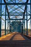Ponte pedonale Fotografia Stock Libera da Diritti