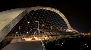 Ponte pedonale di accesso del terzo millennio IV immagine stock libera da diritti