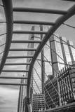 Ponte pedonale di Chong Nonsi Immagini Stock