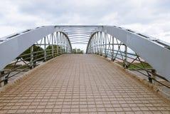 Ponte pedonale in Lincoln Park, Chicago, Illinois Fotografie Stock Libere da Diritti